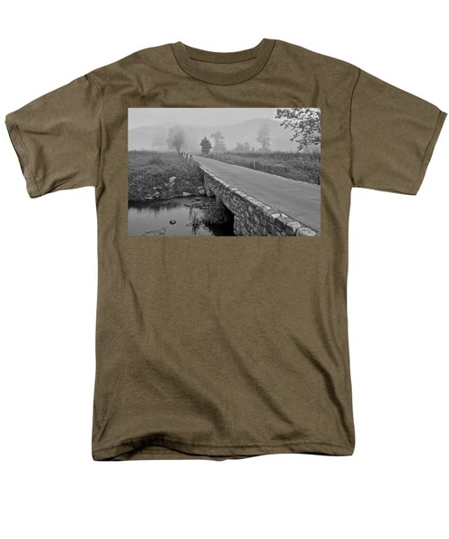 Cades Cove Black and White T-Shirt by Frozen in Time Fine Art Photography