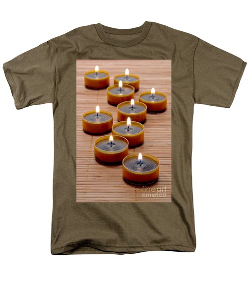 Candles T-Shirt by Olivier Le Queinec