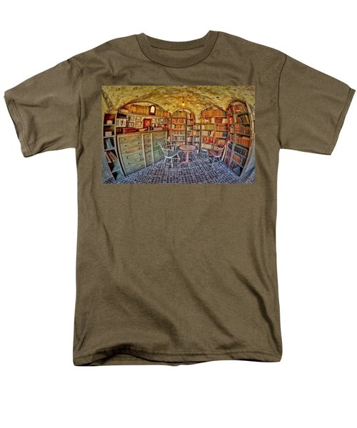Castle Map Room T-Shirt by Susan Candelario