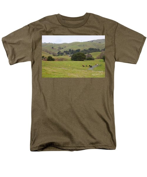 Cattles at Fernandez Ranch California - 5D21061 T-Shirt by Wingsdomain Art and Photography