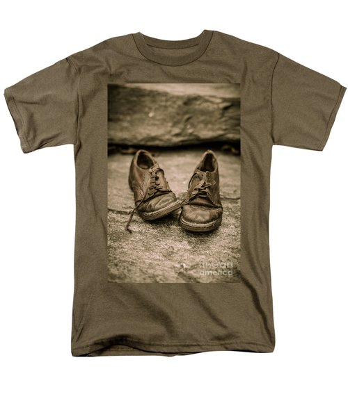 Child's old leather shoes T-Shirt by Edward Fielding