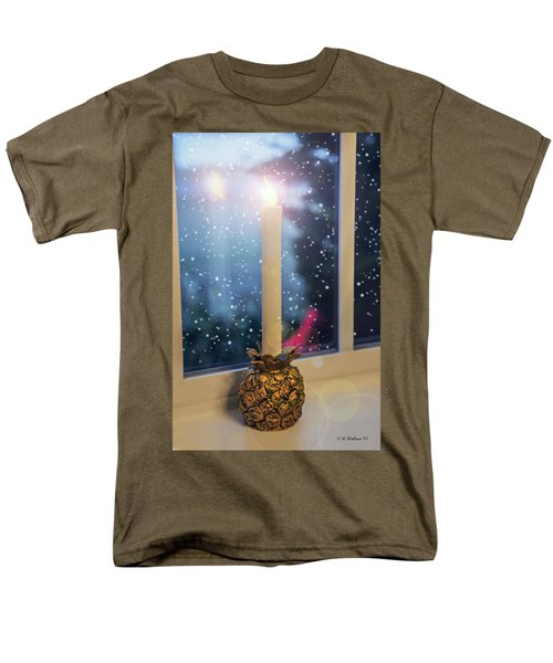 Christmas Candle T-Shirt by Brian Wallace