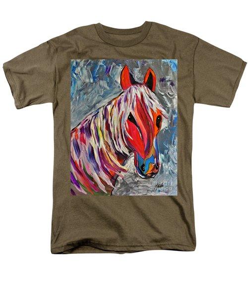 Cisco Abstract Horse  T-Shirt by Janice Rae Pariza