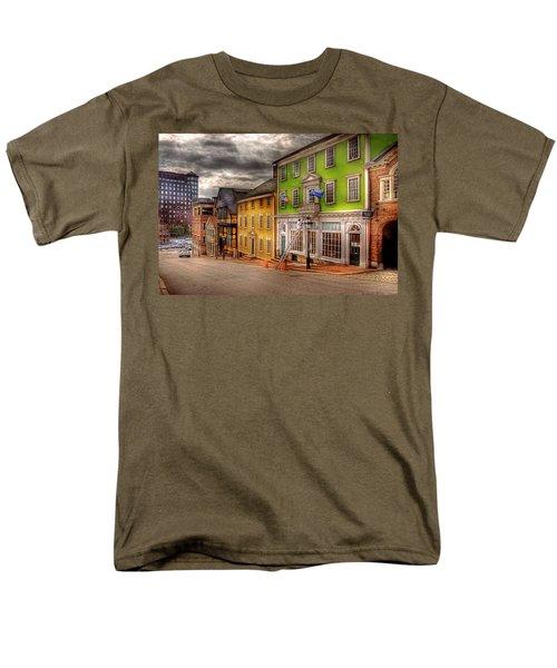 City - Providence RI - Thomas Street T-Shirt by Mike Savad