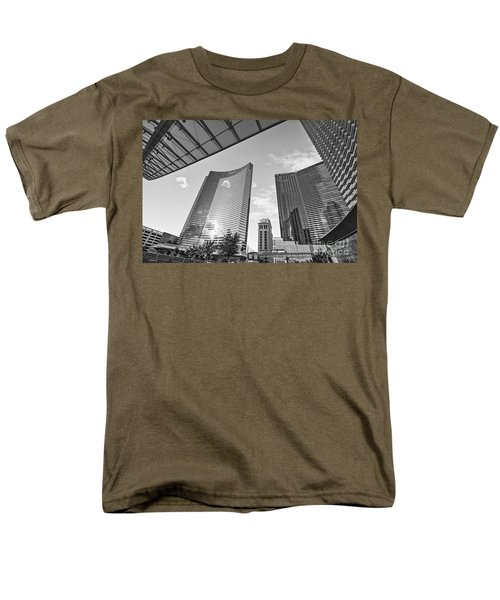 CityCenter - View of the Vdara Hotel and Spa located in CityCenter in Las Vegas  T-Shirt by Jamie Pham