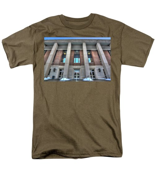 Coffman Memorial Union Men's T-Shirt  (Regular Fit) by Amanda Stadther