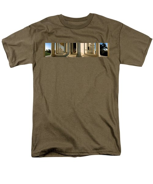 Columns Of A Memorial, Jefferson Men's T-Shirt  (Regular Fit) by Panoramic Images