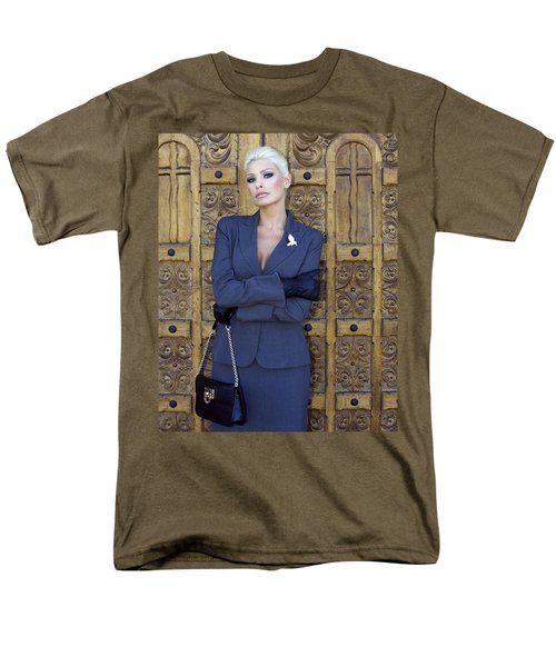 COOL BLONDE Palm Springs T-Shirt by William Dey