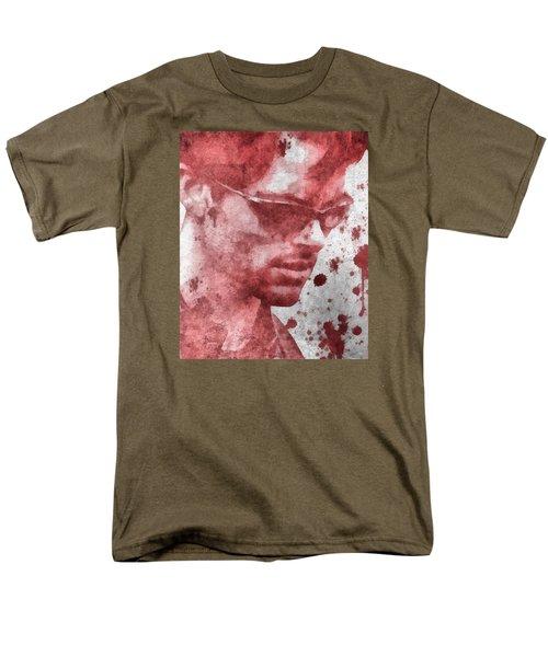Cyclops X Men Paint Splatter Men's T-Shirt  (Regular Fit) by Dan Sproul