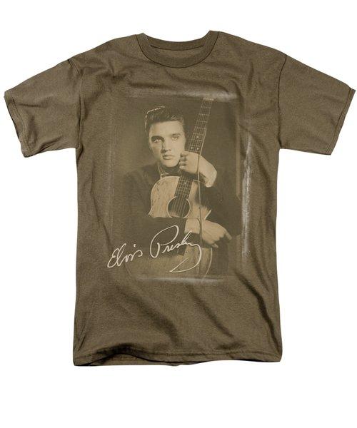 Elvis - Guitar Man Men's T-Shirt  (Regular Fit) by Brand A