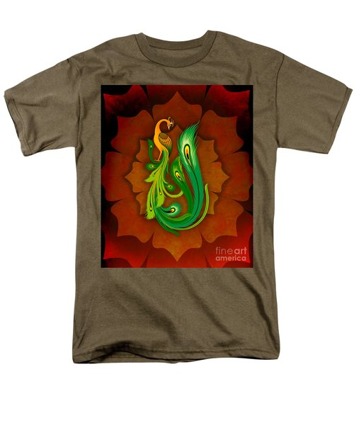 Enchanting Peacock 1 T-Shirt by Bedros Awak