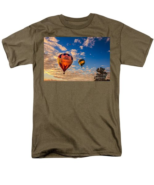 Farmer's Insurance Hot Air Ballon T-Shirt by Robert Bales