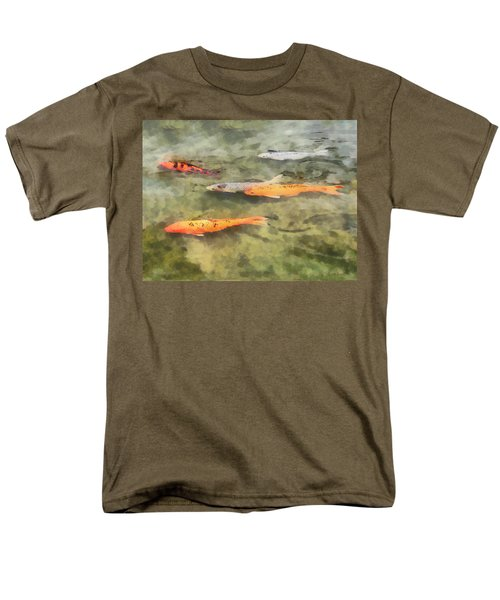 Fish - School of Koi T-Shirt by Susan Savad