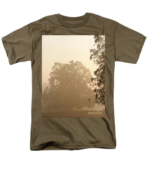 Fog over Countryside T-Shirt by Olivier Le Queinec