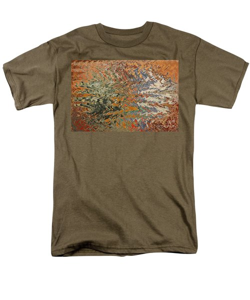 Forces of Nature - Abstract Art T-Shirt by Carol Groenen