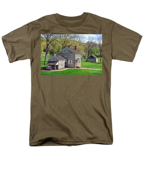 George Washington Headquarters at Valley Forge T-Shirt by Olivier Le Queinec