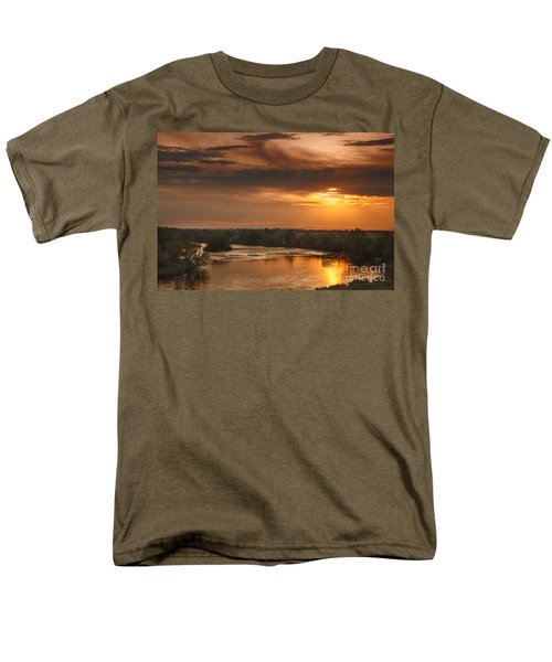 Golden Payette River T-Shirt by Robert Bales