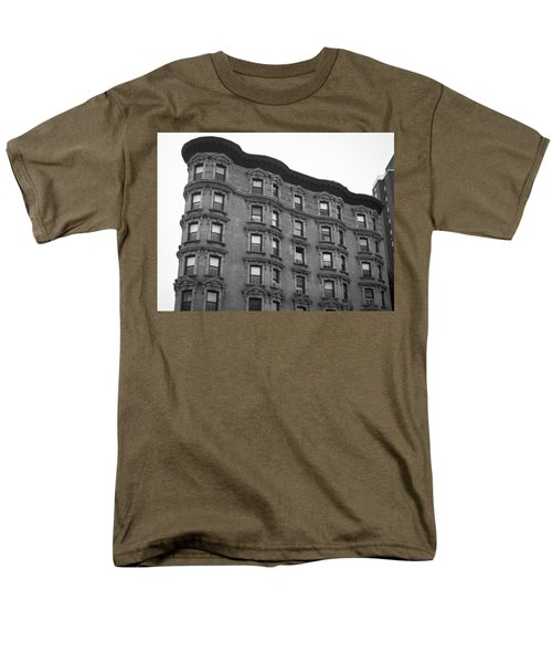 Harlem Architecture Men's T-Shirt  (Regular Fit) by Teresa Mucha