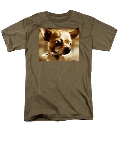 Hollywood Fifi Chika Chihuahua - Electric Art T-Shirt by Wingsdomain Art and Photography