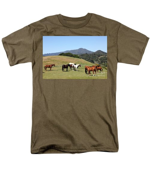 Horse Hill Mill Valley California 5D22672 T-Shirt by Wingsdomain Art and Photography