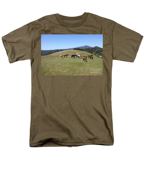 Horse Hill Mill Valley California 5D22673 T-Shirt by Wingsdomain Art and Photography
