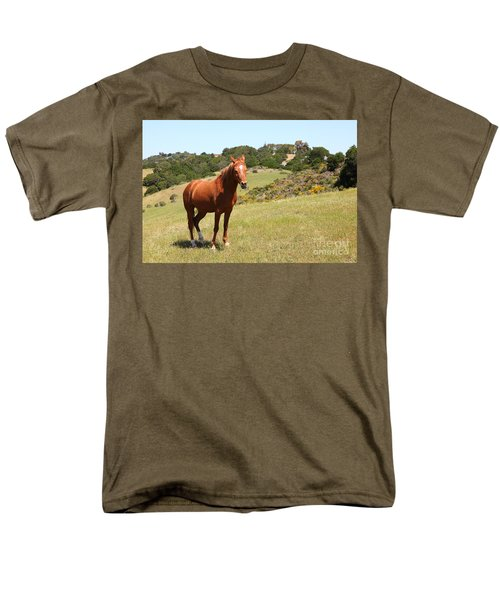 Horse Hill Mill Valley California 5D22679 T-Shirt by Wingsdomain Art and Photography