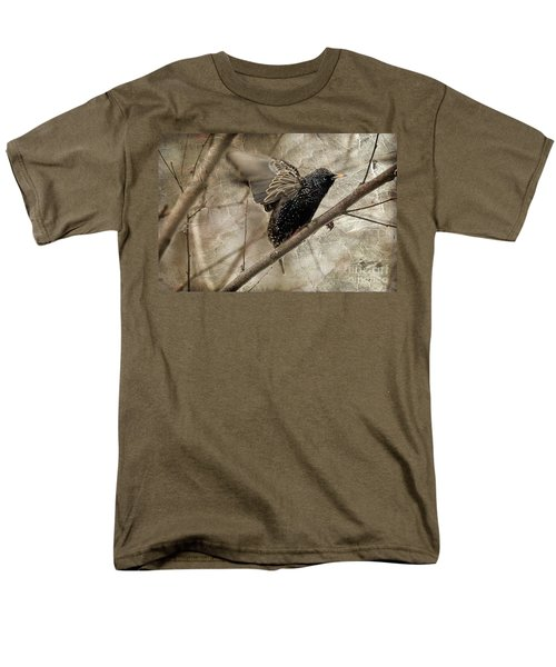 I'm Outta Here Men's T-Shirt  (Regular Fit) by Lois Bryan