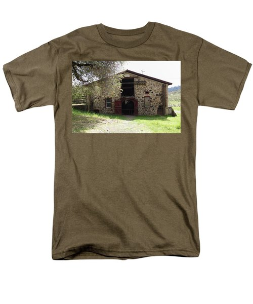 Jack London Sherry Barn 5D22070 T-Shirt by Wingsdomain Art and Photography
