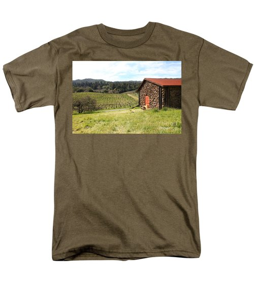 Jack London Stallion Barn 5D22106 T-Shirt by Wingsdomain Art and Photography