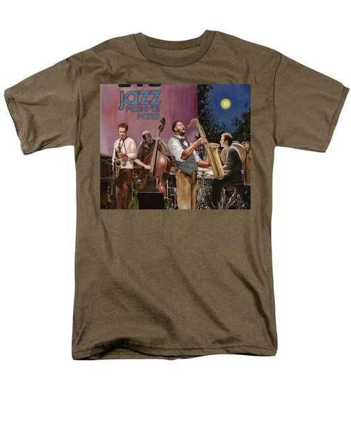 jazz festival in Paris T-Shirt by Guido Borelli
