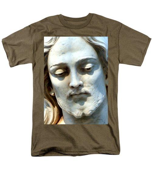 Jesus Statue T-Shirt by David G Paul