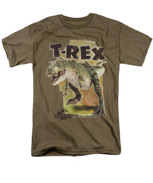 Jurassic Park - T Rex Men's T-Shirt  (Regular Fit) by Brand A