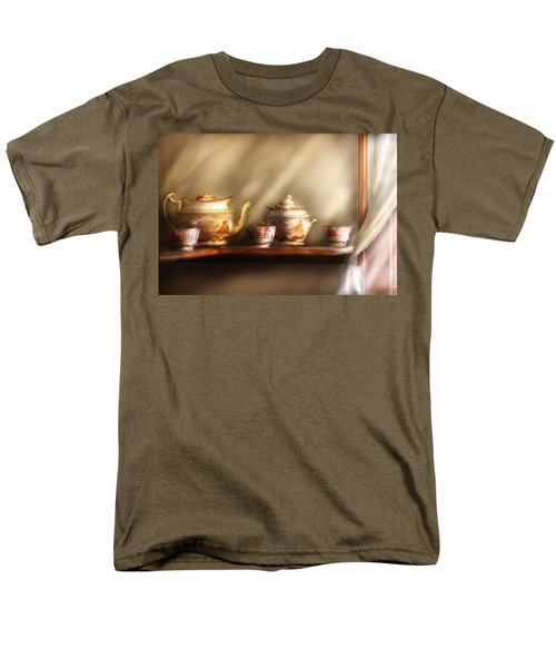 Kettle - My Grandmother's Chinese Tea Set  T-Shirt by Mike Savad