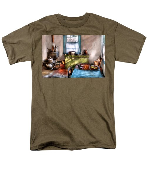 Kitchen - Old fashioned kitchen T-Shirt by Mike Savad