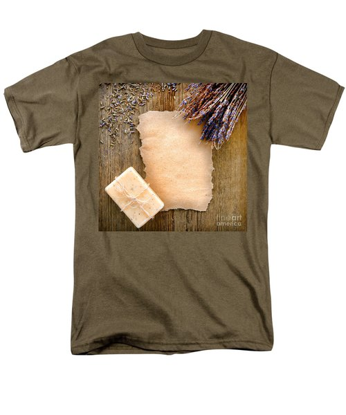 Lavender Flowers and Soap T-Shirt by Olivier Le Queinec