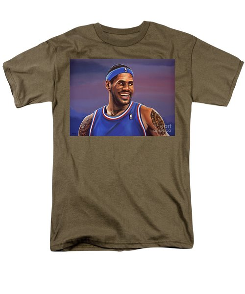 LeBron James  T-Shirt by Paul  Meijering