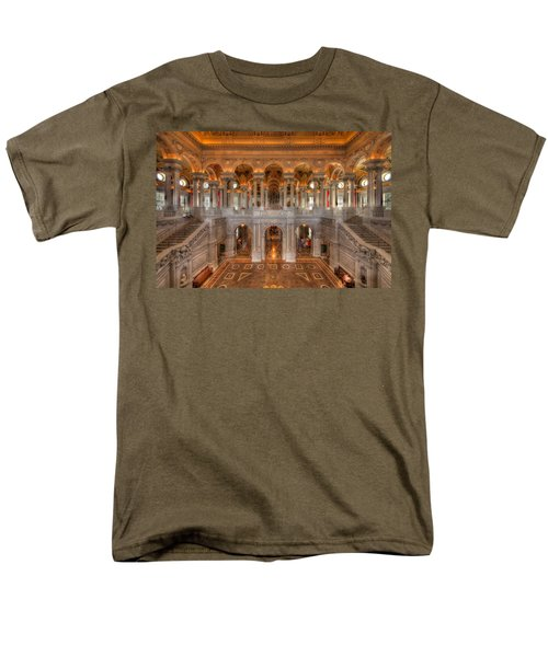 Library Of Congress Men's T-Shirt  (Regular Fit) by Steve Gadomski