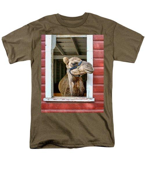 Look Left T-Shirt by Nikolyn McDonald