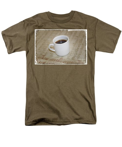 Love Coffee and Music T-Shirt by Nina Prommer