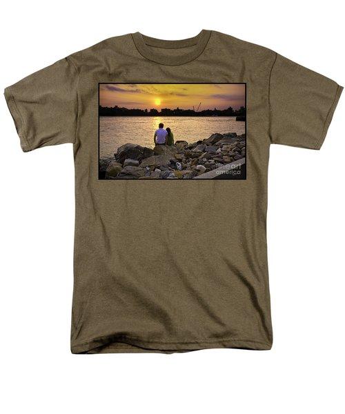 Love On The Rocks In Brooklyn T-Shirt by Madeline Ellis