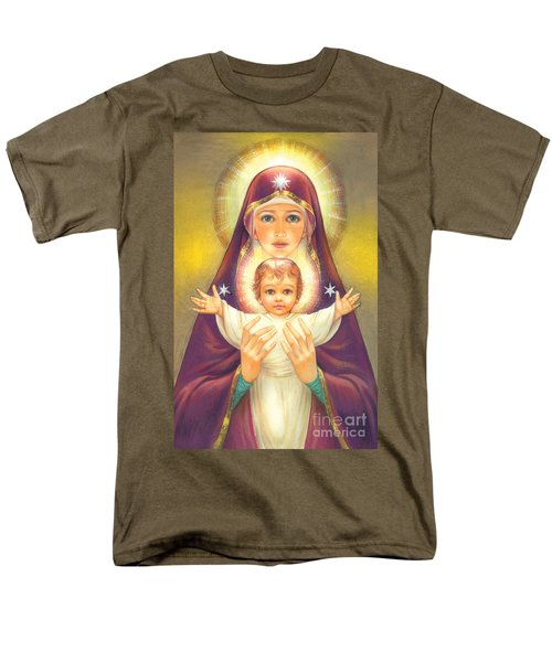 Madonna and Baby Jesus T-Shirt by Zorina Baldescu