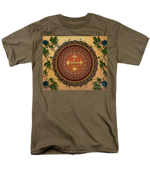 Mandala Armenian Cross sp T-Shirt by Bedros Awak