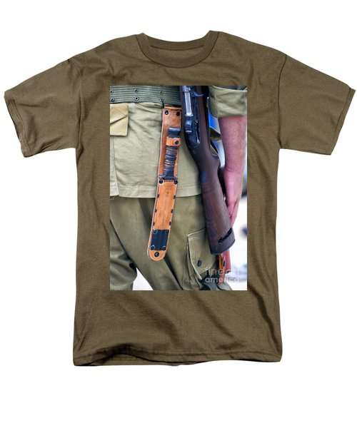 Military Small Arms 01 WW II T-Shirt by Thomas Woolworth