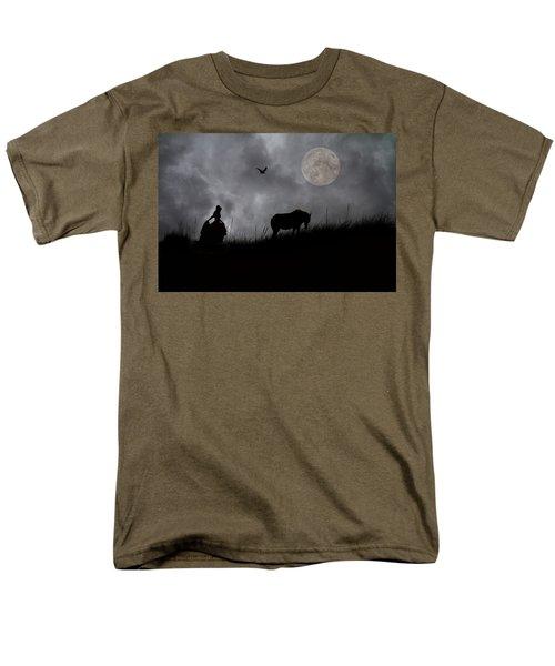Moonlight Walk T-Shirt by Betsy C  Knapp