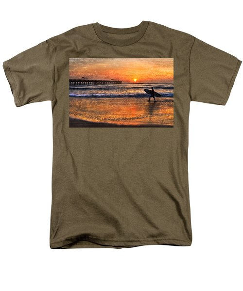Morning Surf T-Shirt by Debra and Dave Vanderlaan