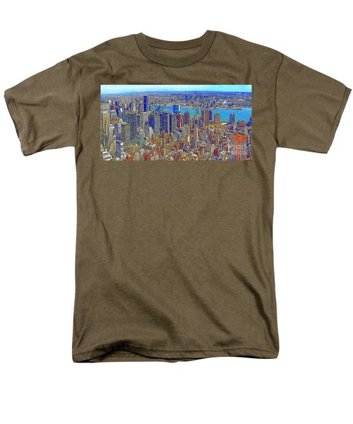 New York Skyline 20130430 T-Shirt by Wingsdomain Art and Photography