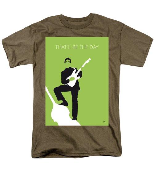No056 My Buddy Holly Minimal Music Poster Men's T-Shirt  (Regular Fit) by Chungkong Art