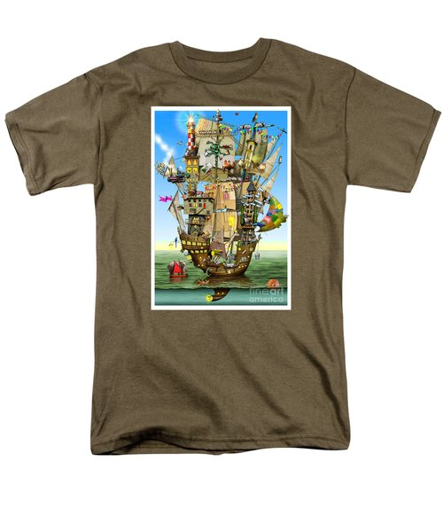 Norah's Ark Men's T-Shirt  (Regular Fit) by Colin Thompson