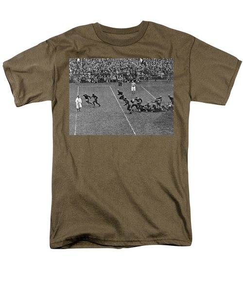 Notre Dame Versus Army Game Men's T-Shirt  (Regular Fit) by Underwood Archives