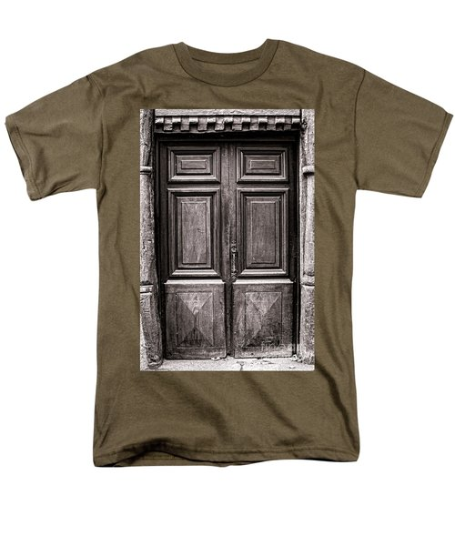 Old Door T-Shirt by Olivier Le Queinec